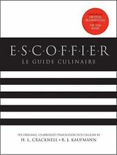 LE GUIDE CULINAIRE - NEW HARDCOVER BOOK