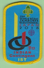 2015 world scout jamboree Japan / INDIAN Contingent IST OFFICIAL patch badge