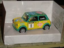 CORGI -  MINI SEVEN RACING CLUB - No 1 - CHRIS LEWIS  - 1:36  - LTD EDITION