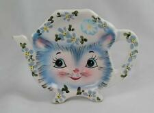 "LEFTON CHINA 4""  MISS PRISS TEA BAG HOLDER PUUUUUUFECTLY ADORABLE"