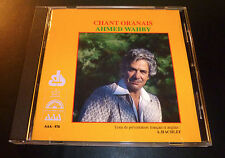 "AHMED WAHBY ""Chant Oranais"" (CD 1993) 8-Track French Import ***EXCELLENT***"