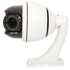 1200TVL HD Color SONY CMOS 30x Zoom PTZ Dome Home CCTV Camera Auto Sync IR-Cut