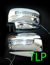 MITSUBISHI L200 TRITON ML MN PAJERO CHROME MIRROR COVER INDICATOR LED 06 - 12 09