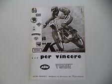 advertising Pubblicità 1977 MOTO KTM ... PER VINCERE