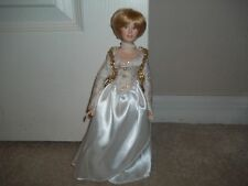1997 Princess Lady Diana Porcelian Doll Peabody & Wright