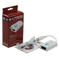 HiRO H50228 V92 56K USB Data Fax Voice Dial Up Modem Dual Port Windows 10 8 7