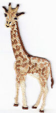 GIRAFFE  - JUNGLE - ZOO ANIMAL - IRON ON EMBROIDERED PATCH - WILD ANIMALS