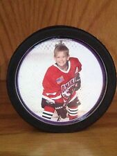 Hockey Puck Picture Frame
