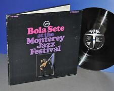 Bola Sete at the Monterey Jazz Festival USA '67 Verve FOC Vinyl LP cleaned