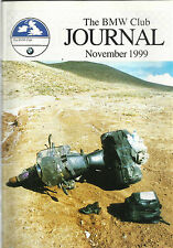 THE BMW CLUB JOURNAL MAGAZINE NOV 1999 GERMAN JOTTINGS MORROCO POLAND TORQUE