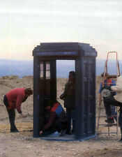 DOCTOR WHO POSTER PAGE . TARDIS ASSEMBLY - REVELATION OF THE DALEKS COLIN BAKER