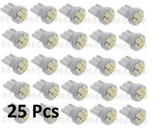 25 X 194 T10 168 501 5W5 Xenon-White 8 SMD LED Car Side Wedge Light Lamp Bulb