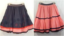 MAX & CO. MAX MARA WOMEN'S REVERSIBLE SKIRT 2 XS SMALL A-LINE TIERED DESIGNER