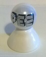 PEZ CANDY LOGO ON WHITE PEARL MARBLE