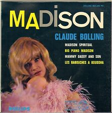 "CLAUDE BOLLING ""MADISON SPIRITUAL"" MADISON JAZZ 60'S EP PHILIPS 424.288"