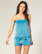 Marc by Marc Jacobs Velour Bandeau Romper Jumper Swimsuit Cover Up XS P NWT