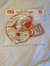 NWT UNIVERSITY OF TEXAS LONGHORN CAR MAGNETIC~12 INCHES~FOOTBALL HELMET CHEAP