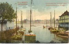 BELGIQUE ANVERS 4 panorama de la ville yachts de plaisance