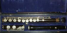 Beautiful antique pelora besson & co 198 Euston road london french flute