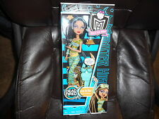 MONSTER HIGH DOLL DEAD TIRED CLEO DE NILE NEW IN BOX