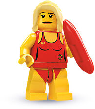 LEGO 8684 Life Guard / Baywatch Minifigure Series 2 NEW SEALED