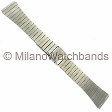20mm Speidel Stainless Steel Silver Tone Watch Band
