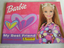 RARE PANINI BARBIE MY BEST FRIEND 2002 MATTEL  STICKER ALBUM BOOK  EMPTY UNUSED