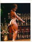 LENDA MURRAY Female Bodybuilding Muscle ORIGINAL Color Photo With Autograph