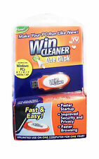 NEW Win Cleaner USB As Seen on TV One Click PC Computer Clean Repair Protect