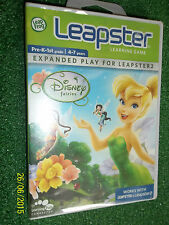 LEAP FROG LEAPSTER 1 I & 2 II 4-7y/o GAME DISNEY FAIRIES COMPLETE/ BRAND NEW