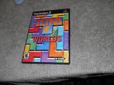 Tetris Worlds  (Sony PlayStation 2, 2002) COMPLETE - BLOCK FRONT