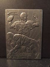 Dan Marino Dolphins 1996 Action Packed Sculpter's Proof Metal Card