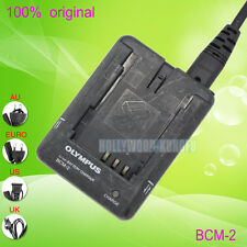 Genuine Original Olympus BCM-2 PS-BLM1 Battery Charger for E-300 E-330 E-3 E-500