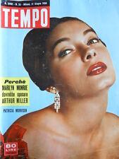 TEMPO n°25 1956 Patricia Morrison - Marilyn Monroe e Arthur Miller  [C90]