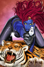 Greg Horn SIGNED Marvel Comic X-Men Super Hero Art Print ~ Mystique