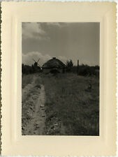 PHOTO ANCIENNE - VINTAGE SNAPSHOT - MOULIN À VENT - WINDMILL - vers 1950 - 2