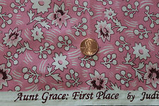 "AUNT GRACE ""FIRST PLACE"" QUILT FABRIC CIRCA 1930's BY THE YARD MARCUS 4484-0326"