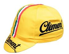 CLEMENT retro cycling Team Cap-vintage-engin fixe made in italy