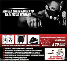 Mask 2.0 TALLA M mascara  MMA , K-1, Muay thai, boxeo, spinning, running, cross