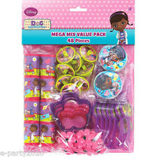 DOC MCSTUFFINS FAVOR PACK (48pc) ~ Birthday Party Supplies Toy Loot Disney Value