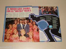 PAUL MCCARTNEY LINDA clipping articolo foto photo 1984 AT55  LA NOSTRA MUSICA