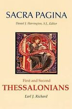 Sacra Pagina: First and Second Thessalonians, Earl J. Richard, Very Good Book