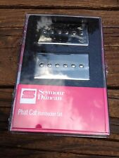 Seymour Duncan SPH90-1 Phat Cat Nickel Set P-90 Pickups Bridge/Neck 11108-16-NC