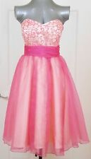 KISS KISS Formal Magenta Strapless Formal DRESS Prom/Cocktail/Evening/Party