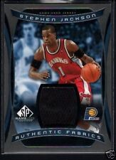 STEPHEN JACKSON 04/05 SP GAME USED FABRIC JERSEY $15