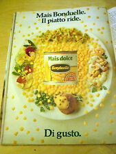 PUBBLICITA' ADVERTISING WERBUNG 1991 MAIS DOLCE BONDUELLE (G41)