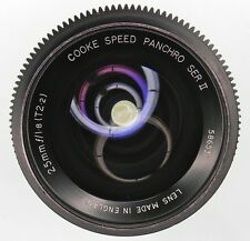 Cooke Speed Panchro 25mm f1.8 (T2.2) Ser.II BNC mount  #586531