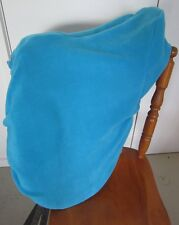 Horse Stock / Western / Swinging Fender Saddle cover FREE EMBROIDERY Sky blue