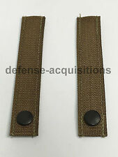 SET OF 2 Military MOLLE Replacement Straps 5.5 INCH Tactical Pouch Pack COYOTE