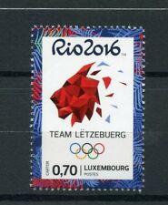 Luxembourg 2016 MNH Olympic Summer Games Rio 2016 1v Set Olympics Stamps